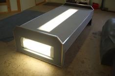 Leichte und robuste Carbon Arbeitsbühne mit Beleuchtung