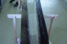 Fertigung von einem Rotorblatt einer 5kW Kleinwindanlage