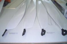 Solarflugzeugpropeller Durchmesser 3,3m Gewicht 700g