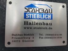 Hallenerweiterung durch Fa. Stahlbau Stieblich