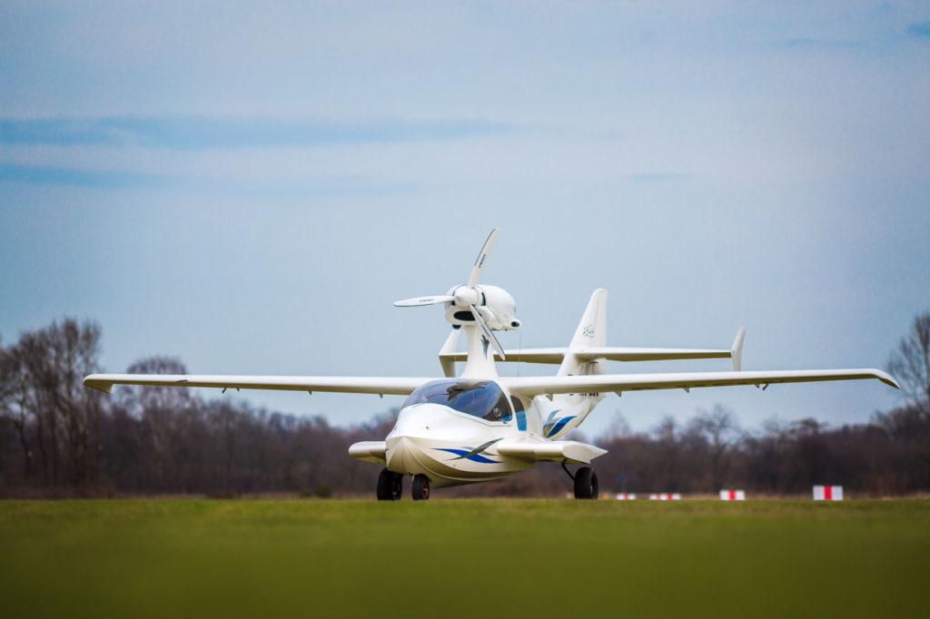 FlyWhale ein ultraleichtes Amphibienflugzeug